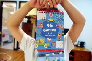 外出也方便的感統遊戲書 45 Games Out and About 觀察力、專注力、組織計劃