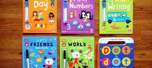 六本運筆(擦寫)遊戲書大集合-上篇|Arty Mouse