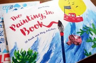 [同大爺的畫冊] The Painting-In Book 30個繪畫遊戲  Doodle Town塗鴨書