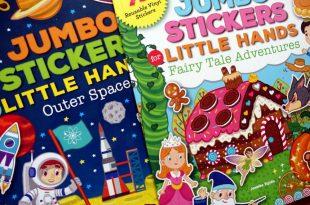 一次貼完11個童話故事|Jumbo Stickers for Little Hands大尺寸貼紙書