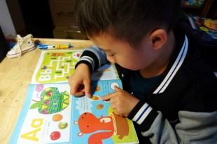 我的第1本ABC貼紙遊戲書My First ABC Sticker Activity Book|專注力、組織計劃、順序概念