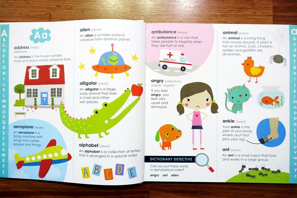 少見又實用的第一本幼兒英文字典|First Dictionary - 愛小宜的甜蜜小窩