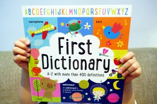 少見又實用的第一本幼兒英文字典|First Dictionary