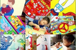 6月書單:音效玩具書, 硬頁書,繪本,貼紙書,Letterland有聲CD,蒙特梭利教具,感統遊戲卡