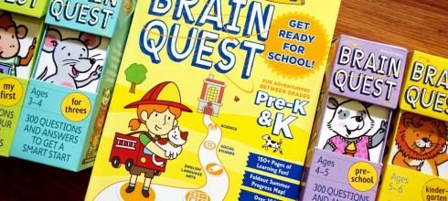 名列維基百科的全球暢銷童書 小小孩的Summer Brain Quest 大腦益智任務冊(夏日本)