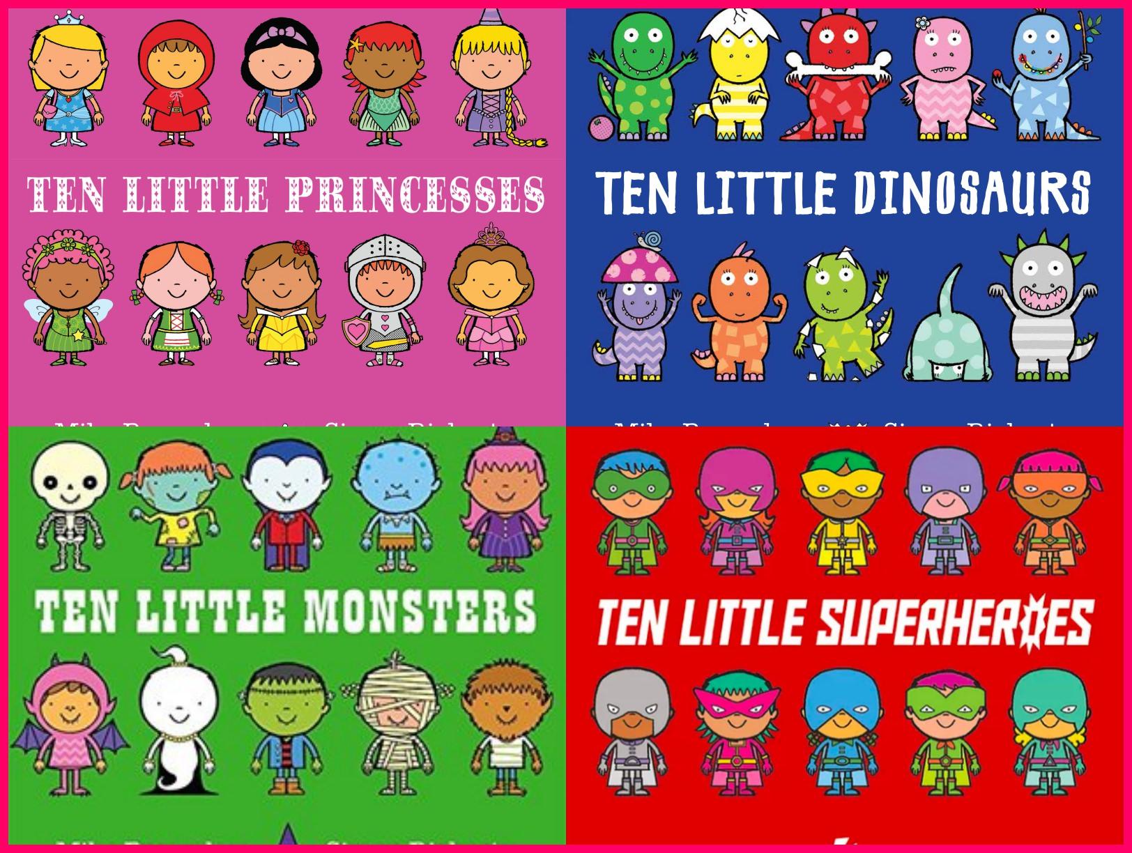 會想一直聽下去的親子共讀書單|Ten Little系列:驚險又刺激的數字冒險故事 - 愛小宜的甜蜜小窩