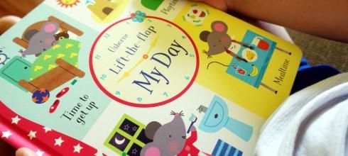 超過75個翻翻小機關 Lift-the-Flap My Day 小小孩的第1本生活順序操作書