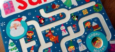 2-4歲的組織計劃力遊戲 Follow Me Santa 多備幾本都不嫌多的迷宮書大集合