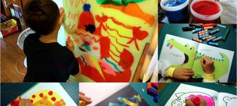 用了快2年,超好用畫畫用品 英國Little Brian無毒可洗式水彩棒 打發時間畫冊著色本分享