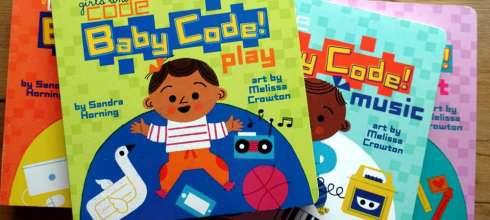 非營利組織girls who code合作出版 Baby Code! 給小小孩的程式語言啟蒙書