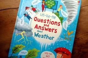 為什麼小人必讀科普|Lift-the-flap questions and answers about weather|天氣百科翻翻書