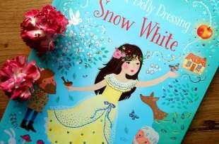 女寶媽怎麼閃的過|Snow White穿衣打扮貼紙故事書|可重覆撕貼