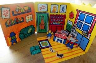 經典不敗小孩界之神 Maisy's House 小鼠波波立體書屋,還能扮家家酒
