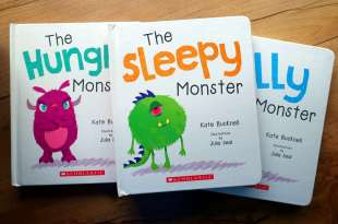 半獸人行為書單|Little Monster|專門畫給盧盧半獸人的《小怪獸故事書》