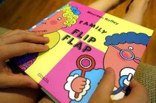 充滿無限組合與驚喜|Family Flip Flap|我們這一家,1本打破邏輯的哈哈大笑翻翻書