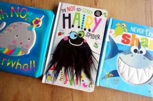 超人氣怪怪觸覺書又來了|The Not So Scary Hairy Spider|還有立體公仔找找書屋