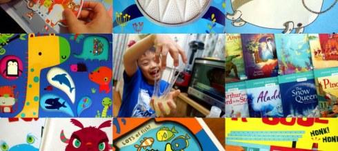[揪團]7月書團:怪怪觸覺書,雙發音讀本,貼紙遊戲書,硬頁書,故事CD書,Brian Clegg彩色無毒膠水