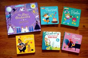 最吸引孩子的音效書|the little virtuoso小小音樂家|還有按了就發光的亮燈書