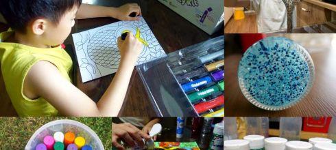 小孩美術用品:全球專利!英國Brian Clegg生態環保亮片|不造成海洋負擔, 還有水彩棒禮物桶