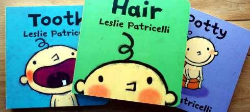 百萬媽媽好評的尿布小寶|Leslie生活行為硬頁書|剪頭髮,長牙了,坐馬桶, 還有好玩變色洗澡書