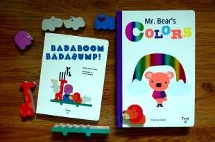 Badaboom Badabump!動物遊戲組|媽媽雜誌最佳童書得主Mr. Bear's Colors(這本激推)