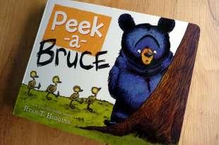 只要媽媽都會懂 Peek-A-Bruce 看完都會舉手說中的書