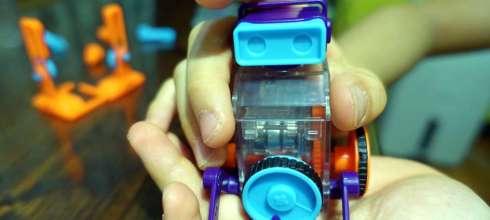又酷又神奇 Smart LAB Tiny Robots 世界最小機器人 15種變化,讓孩子動手玩STAEM機械