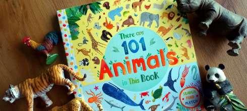親子共讀|There Are 101 Animals In This Book|一百零一種動物的找找看與配對遊戲書
