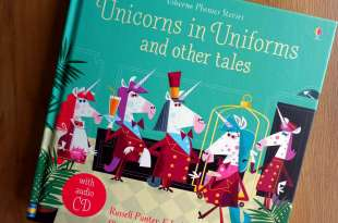 自然發音CD故事集|Unicorns in Uniforms and other tales|一本有8個故事