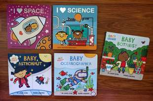 國外媽媽狂推的科學硬頁書|當孩子開始問為什麼?I Love Science 和 Baby Scientist
