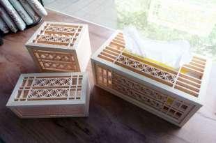 台灣老師傅的手工花窗再發光|古錢花磁吸面紙盒,收納盒,紙巾盒,六角杯墊