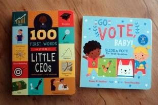 建立孩子的商業腦|100 First Words for Little CEOs|超另類親子共讀書單