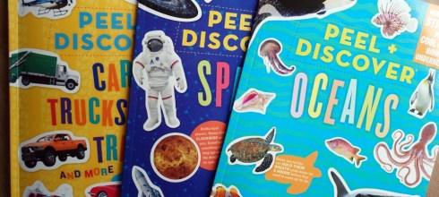 Peel + Discover探索遊戲書,100張貼紙的撕貼小機關