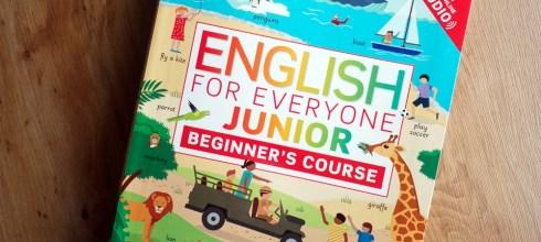 兒童英文自學教材書 English for Everyone Junior: Beginner's Course 免費線上音檔網站