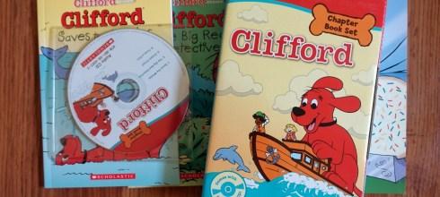 陪同大爺長大的童書 新書分享:Clifford Chapter Book Set