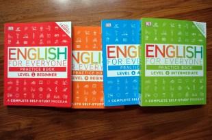兒童自學教材書練習本 English for Everyone Practice book 有免費線上音檔