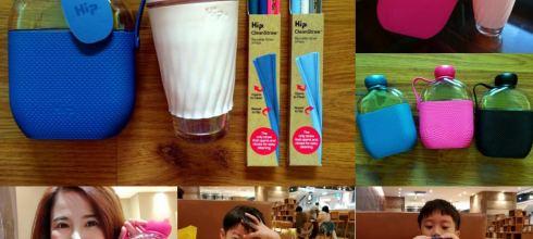 [揪團] 粗魯小孩一定要有的Hip果凍壺,矽膠吸管|環保又耐用,還有Bumkins副食品餐具