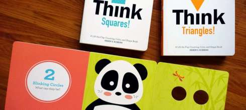 小孩的第1本「分析思考」操作書:Think Shapes! ,還有Baby Loves Science科學啟蒙