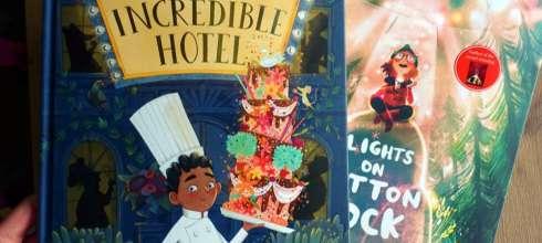 精選繪本分享|The Incredible Hotel和Lights on Cotton Rock,畫風與故事兼具