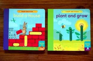在家也可以蒙特梭利學習|Baby 101:plant and grow和build a house,搭配描線遊戲