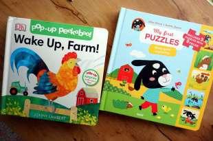 小孩的立體翻翻書|Jonny Lambert's Wake Up, Farm!,還有大尺寸拼圖故事書