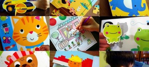 [揪團]4月書團:調色盤著色書,感統遊戲書,硬頁書,讀本CD,立體拼圖書,小孩情緒貼紙書,繪本