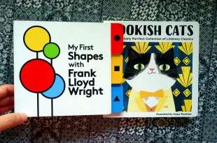 親子共讀:美感教育書單上篇|Bookish Cats|建築大師玩形狀,安迪沃荷的顏色世界
