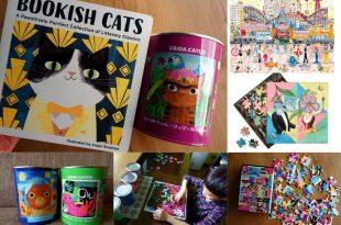 拼圖大集合|美國Mudpuppy Arty Cats100片拼圖收納罐|還有Glison藝術家設計拼圖