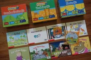 學校英語教材上篇:引導閱讀Reading Line CD讀本|Sound and Letter Kit 字母及自然發音
