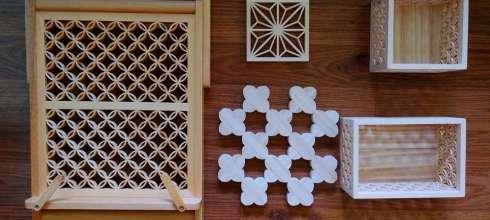 走過一甲子,台灣老師父的手工花窗書架,還有杯墊、隔熱墊及收納盒