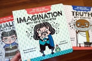 眾媽媽們一致推薦的品格書單 Big Ideas for Little Philosophers 親子共讀硬頁書