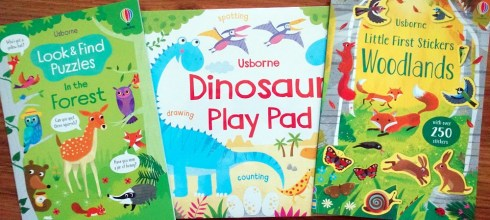 遠離3C的好方法-不無聊畫畫遊戲書Dinosaur Play Pad|貼紙書和指令型找找書