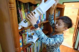 高CP值家電 輕量1.6公斤手不酸 日本IRIS 偵測灰塵無線二用吸塵器 和 大拍除蟎機3.5
