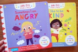 Little Big Feelings小小孩大感受 具專業性的「情緒操作書」